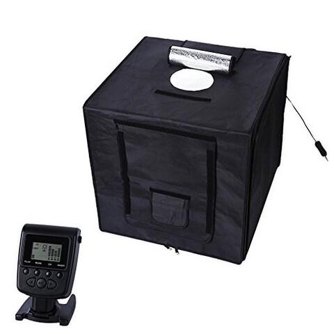 Polaroid Portable Studio Box Photography Tent with LED Light Panel & Remote Control