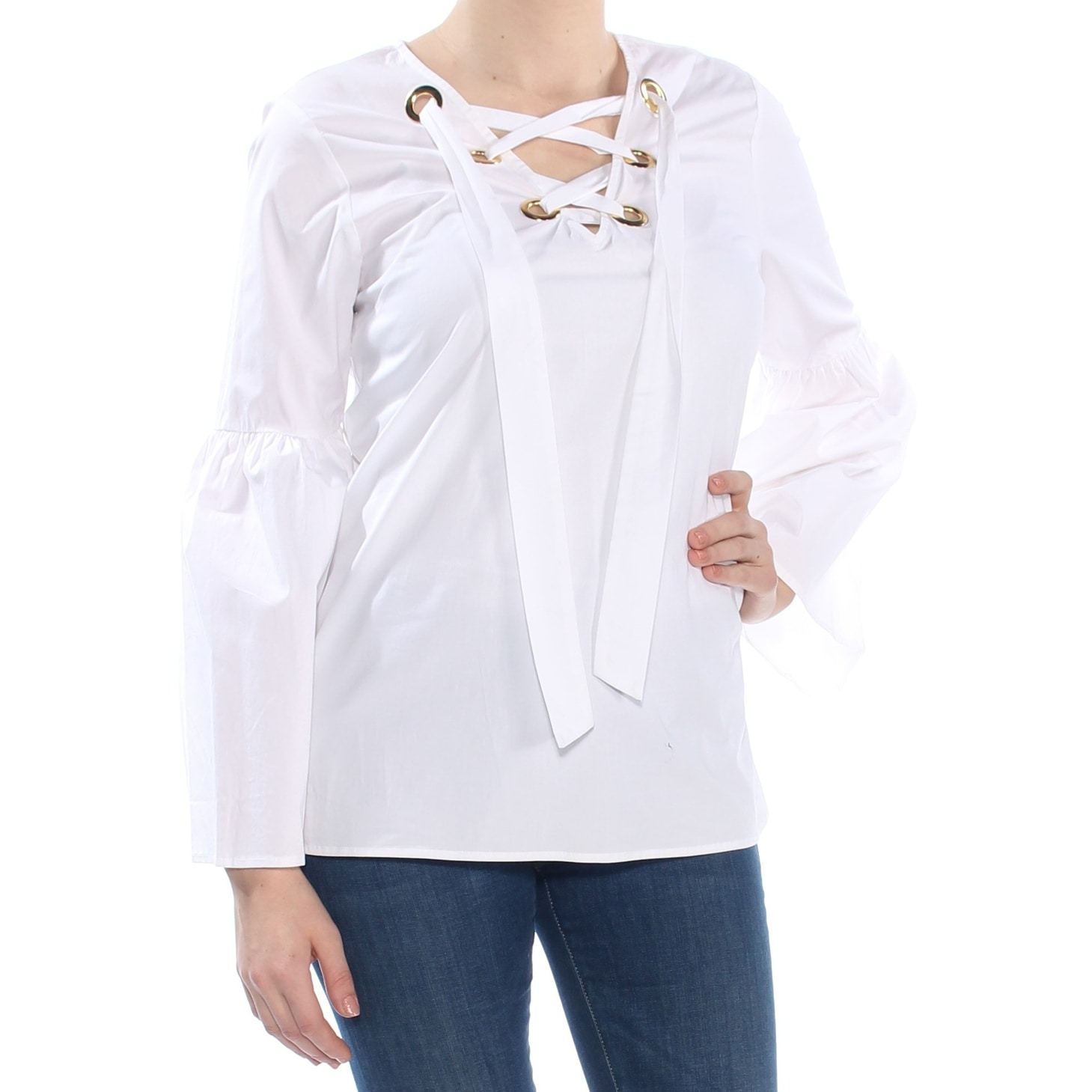 32ad5edda30f59 Michael Kors Tops | Find Great Women's Clothing Deals Shopping at Overstock