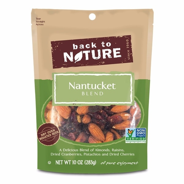 Back To Nature Nantucket Blend - Case of 9 - 10 oz.