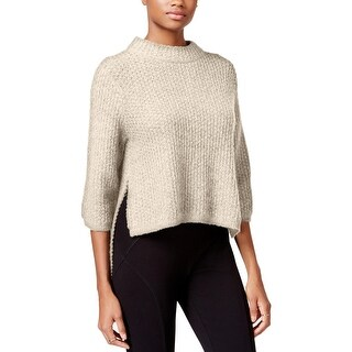 Rachel Rachel Roy Womens Pullover Sweater Mock-Neck Hi-Low