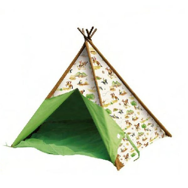 Shop Childrenu0027s Canvas Teepee Tent Western Cowboys 72 in. - Free Shipping Today - Overstock - 17846788  sc 1 st  Overstock.com & Shop Childrenu0027s Canvas Teepee Tent Western Cowboys 72 in. - Free ...