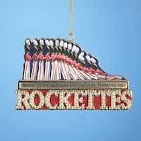 "12 NYC Radio City Music Hall Rockettes Toy Soldier Christmas Ornaments 4"" - multi"