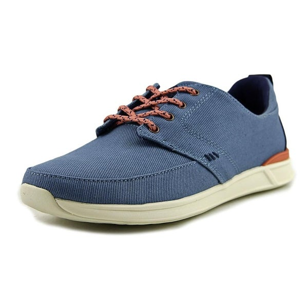 Reef Rover Low Women Round Toe Canvas Blue Sneakers