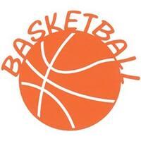 """Basketball - Cardstock Laser Die-Cuts 4""""X6"""""""