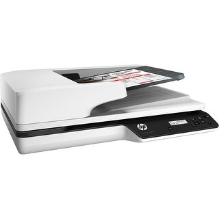 HP ScanJet Pro 3500 f1 Flatbed Scanner - 1200 dpi Optical - (Refurbished)