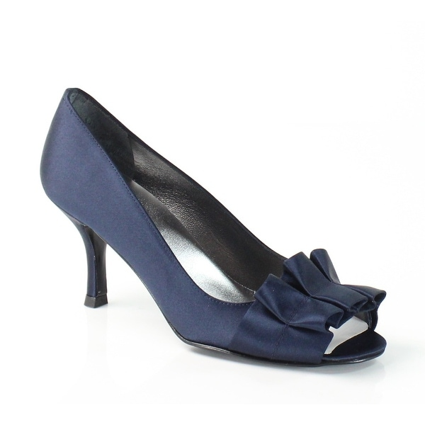 Stuart Weitzman NEW Blue Gigiritz Shoes Size 6N Open Toe Heels