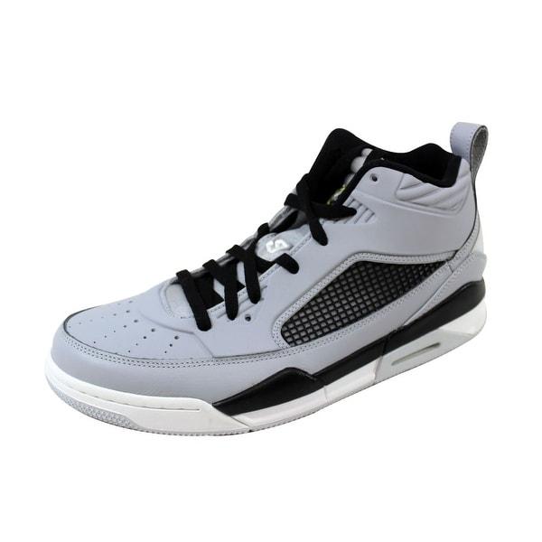 d520f4674ac Shop Nike Men s Air Jordan Flight 9.5 Wolf Grey Vibrant Yellow-Black ...