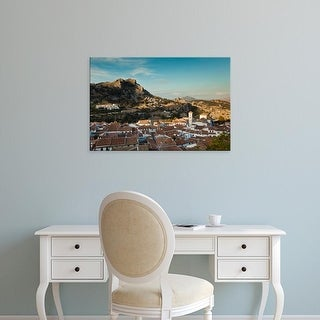 Easy Art Prints Walter Bibikow's 'Elevated View Of An Andalucian White Village' Premium Canvas Art