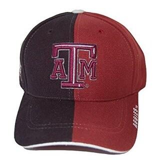 New Texas A&M Aggies Acrylic 2 Tone College Hat - Black/Maroon