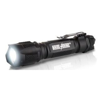 Brite Strike Blue Dot 600 Lumen Tactical Hi/Lo/Strobe Rechargeable Flashlight