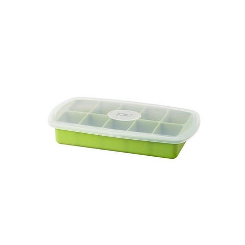 Joie 10-Slot Flexible Silicone Ice Cube Tray with Lid