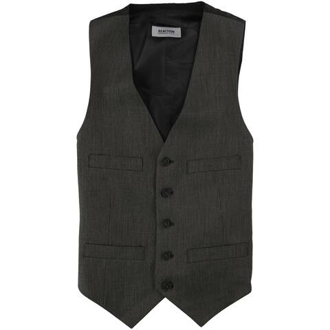Kenneth Cole Mens Sleek Five Button Vest - 36 Short
