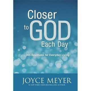 FaithWords & Hachette Book Group Closer To God Each Day, October