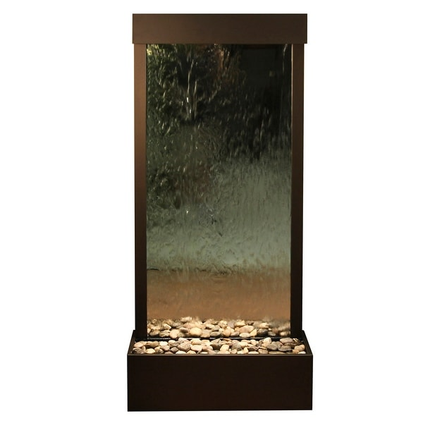 Adagio Harmony River Fountain - Center Mount - Stainless Steel - Choose Options