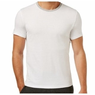 Kenneth Cole NEW White Mens Size 2XL Crewneck Nightshirt Sleepwear