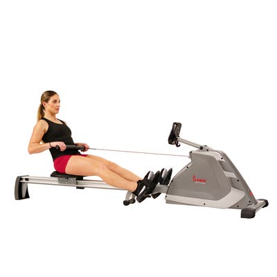 Sunny Health & Fitness Programmable Magnetic Rower