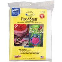 "White 15""X36"" - Fuse-N-Shape Heavyweight Fusible Interfacing"