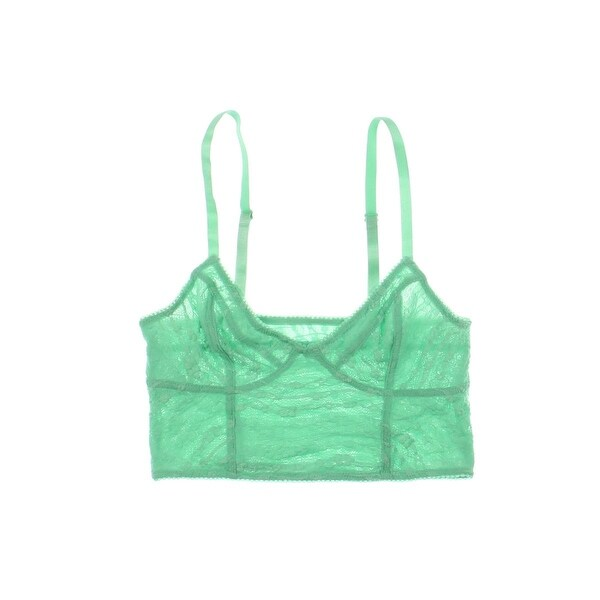 Free People Womens   Bralette Lace Cropped