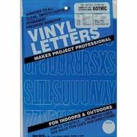 Permanent Adhesive Vinyl Letters & Numbers 2''
