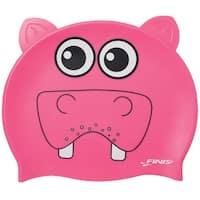 FINIS Youth Animal Head Swim Cap - Hippopotamus