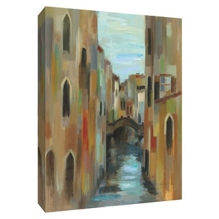 "PTM Images 9-154846  PTM Canvas Collection 10"" x 8"" - ""Venezia II"" Giclee Buildings and Landmarks Art Print on Canvas"