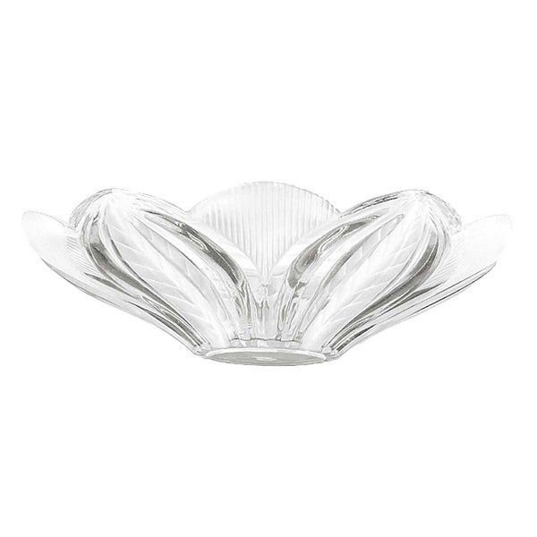 Lamp Shade Clear Glass Leaf Dome Shade