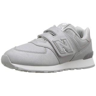 New Balance Kids' 574v1 Hook and Loop Sneaker - 5.5 w us big kid