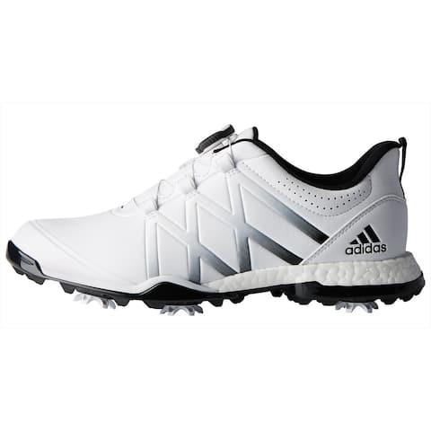 New Adidas Women's Adipower Boost BOA Golf Shoes Cloud White/Core Black F33648