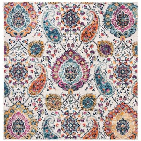 SAFAVIEH Madison Belle Vintage Boho Paisley Rug