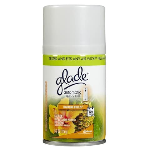 Glade 71777 Automatic Spray Refill, Hawaiian Breeze, 6.2 Oz.