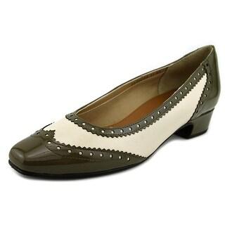 Mark Lemp By Walking Cradles Bradley 4A Square Toe Leather Flats