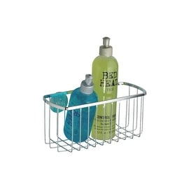 InterDesign Chrome Suction Basket