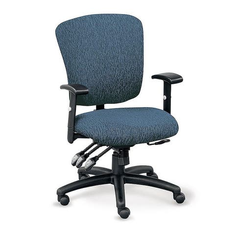 """Copper Grove Siribana Ergonomic Fabric-upholstered Office Chair with Memory Foam Seating - 26"""" x 21"""" x 39-43"""""""