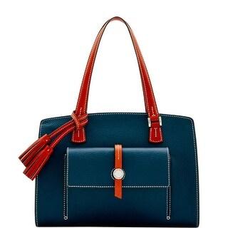 Dooney & Bourke Cambridge Shoulder Bag (Introduced by Dooney & Bourke at $328 in Oct 2016) - Midnight Blue