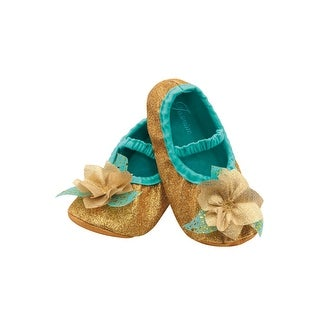 Disguise Jasmine Toddler Slippers - GOLD