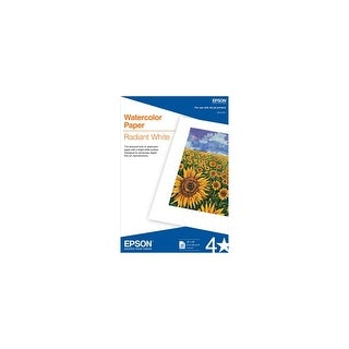 Epson Watercolor Radiant Paper - White Watercolor Radiant Paper - White