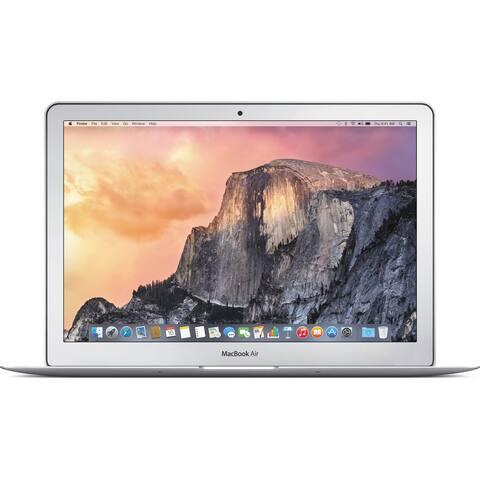 Apple MacBook Air MJVE2LLA Intel Core i5-5250U X2 1.6GHz 4GB 128GB, Silver (Certified Refurbished)