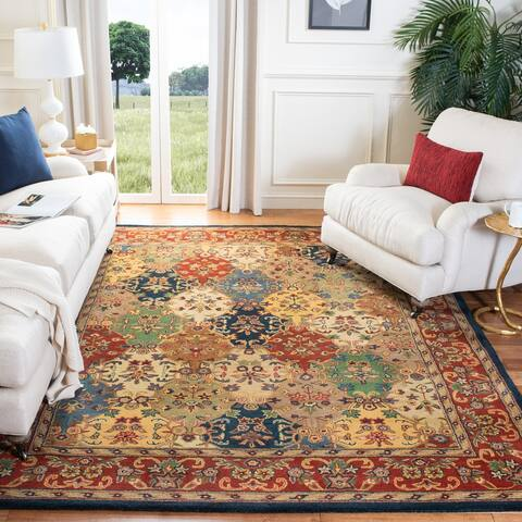 SAFAVIEH Handmade Heritage Lyra Traditional Oriental Wool Rug