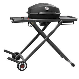 Landmann 42235 Pantera Gas Grill - 2 Sq. Ft. Cooking Area - 1 Cooking Element - Black