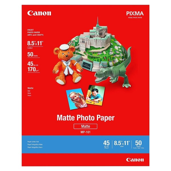 Canon Matte Photo Paper Plus CANON MATTE PHOTO PAPER 8.5x11