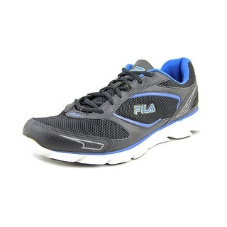 Fila Ancerus 5 Men Round Toe Leather Black Running Shoe