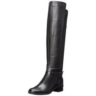 Bandolino Women's Cuyler Leather Riding Boot