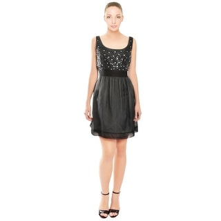 Phoebe Sparkling Rhinestone Sequin Cocktail Dress - 12