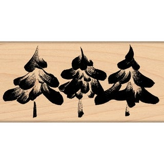 """Penny Black Mounted Rubber Stamp 2.5""""X4.5""""-Snowcapped"""