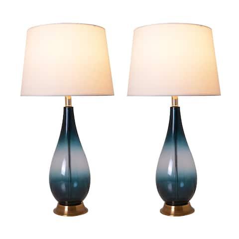 "Tulip 28"" Table Lamp (Set of 2)"