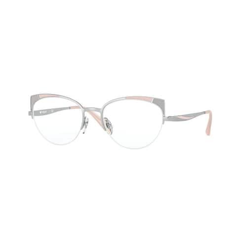 Vogue VO4153 323 51 Silver/Pink Grey Womens Cat Eye Eyeglasses