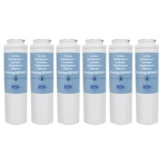 Replacement Water Filter Cartridge for Maytag Refrigerator MBF1958DEE - (6 Pack)