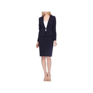 Tahari ASL Womens Petites Skirt Suit Professional Office Wear