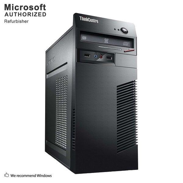 Certified Refurbished Lenovo M72E TW, i3-3220 3.3G, 12G DDR3, 120G SSD + 500G HDD, 1G VC, DVD, WIFI, BT 4.0, DVI, W10H64 (EN/ES)
