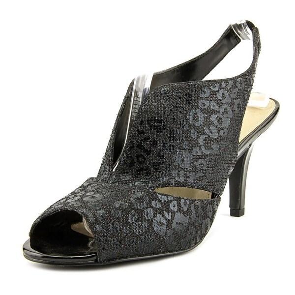 Bandolino Mirabella Open Toe Canvas Sandals